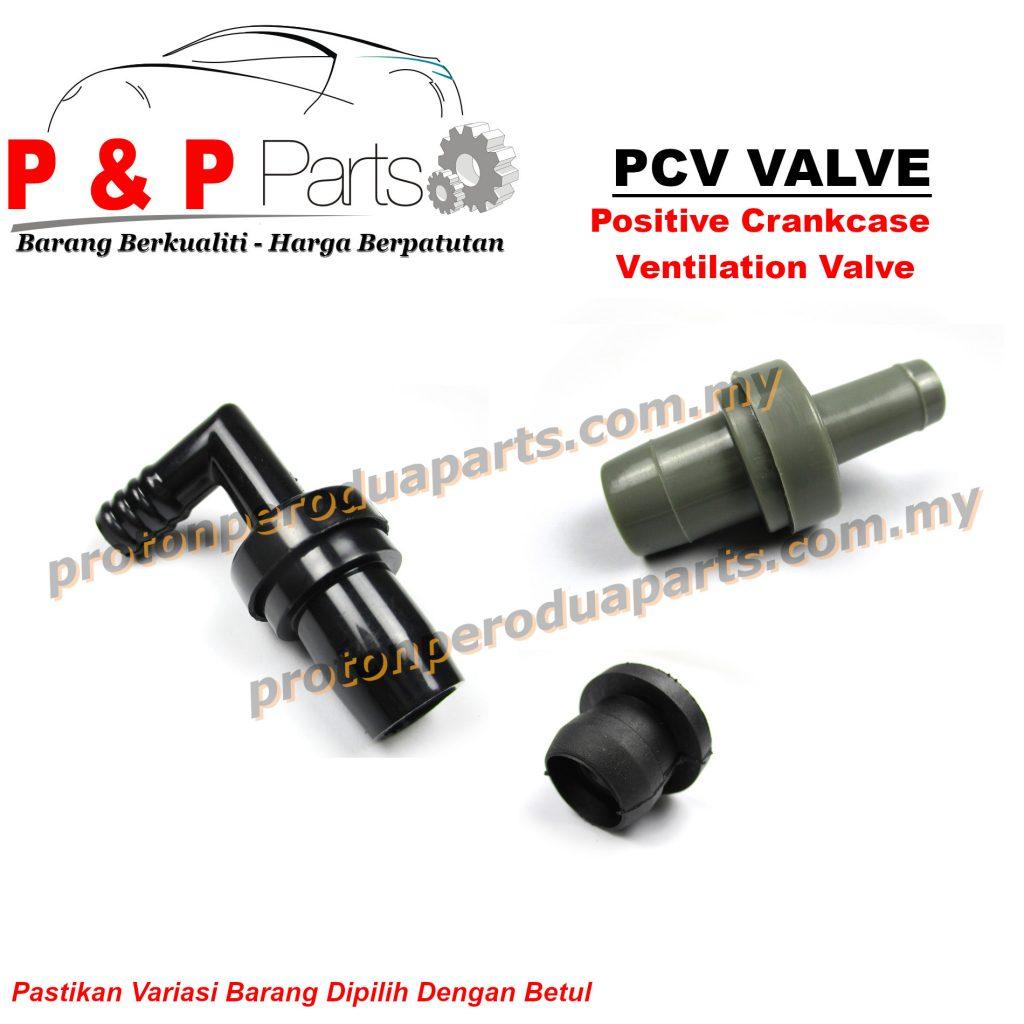 PCV Valve + Bush ( Positive Crankcase Ventilation )