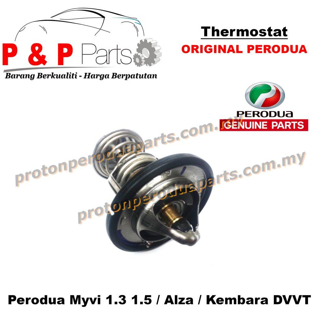 Thermostat  Perodua Myvi 1.3 1.5 Alza Kembara DVVT - Original Perodua / Aftermarkets Parts