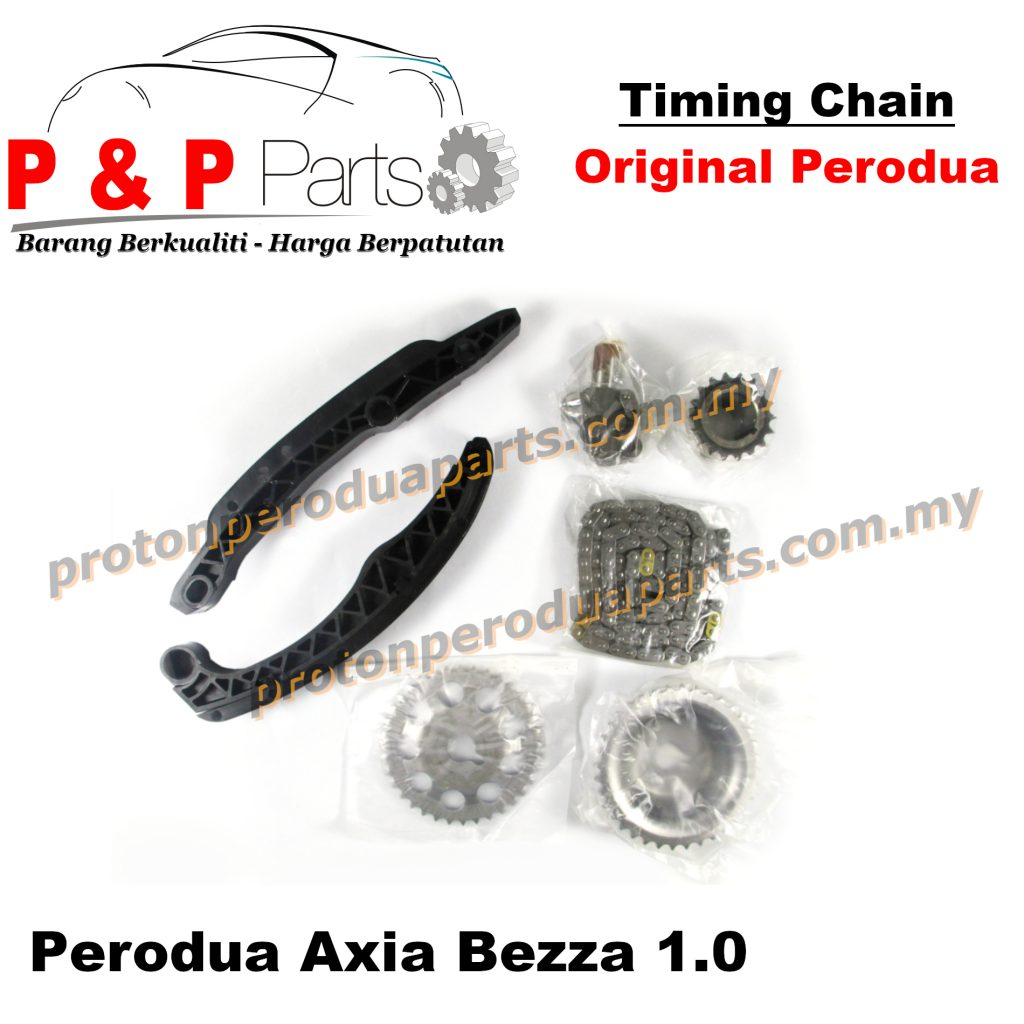 Timing Chain - Perodua Axia Bezza 1.0 - Original Perodua - 1SET (7pcs)