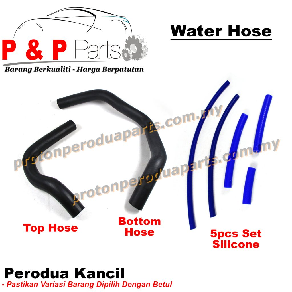 Radiator Water Hose Water For Perodua Kancil Rubber / Silicone