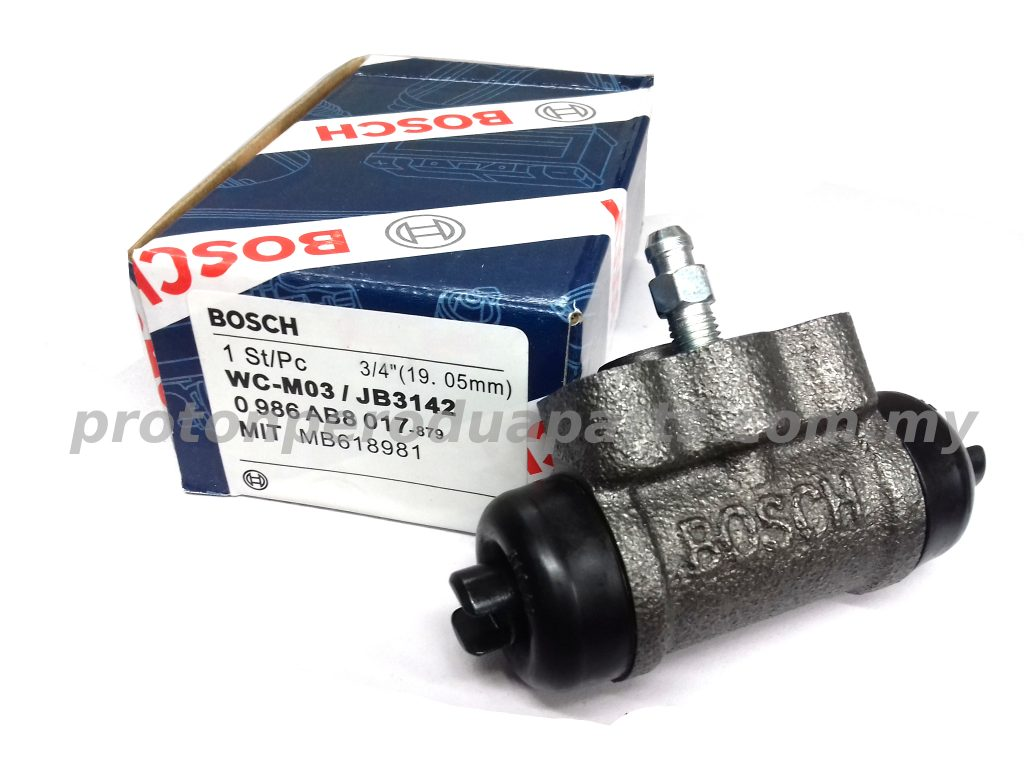 BOSCH Rear Wheel Cylinder Brake Pump for Proton Saga Iswara Wira (3/4inc)