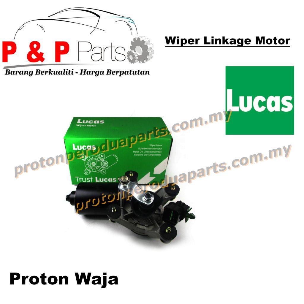 Wiper Motor Linkage Original Lucas For Proton Waja 4G18 Campro