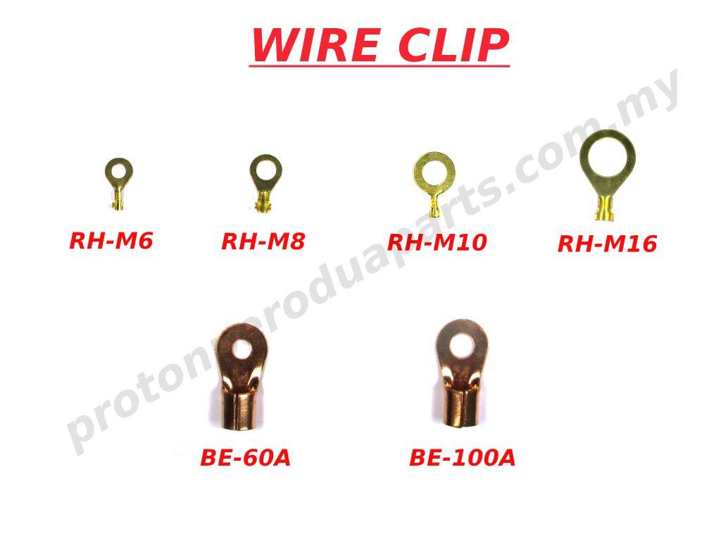 Copper Brass Wire Clip Big Eye Type Round Head / Klip Wayar Tembaga Jenis Mata Bulat Besar - 1 piece