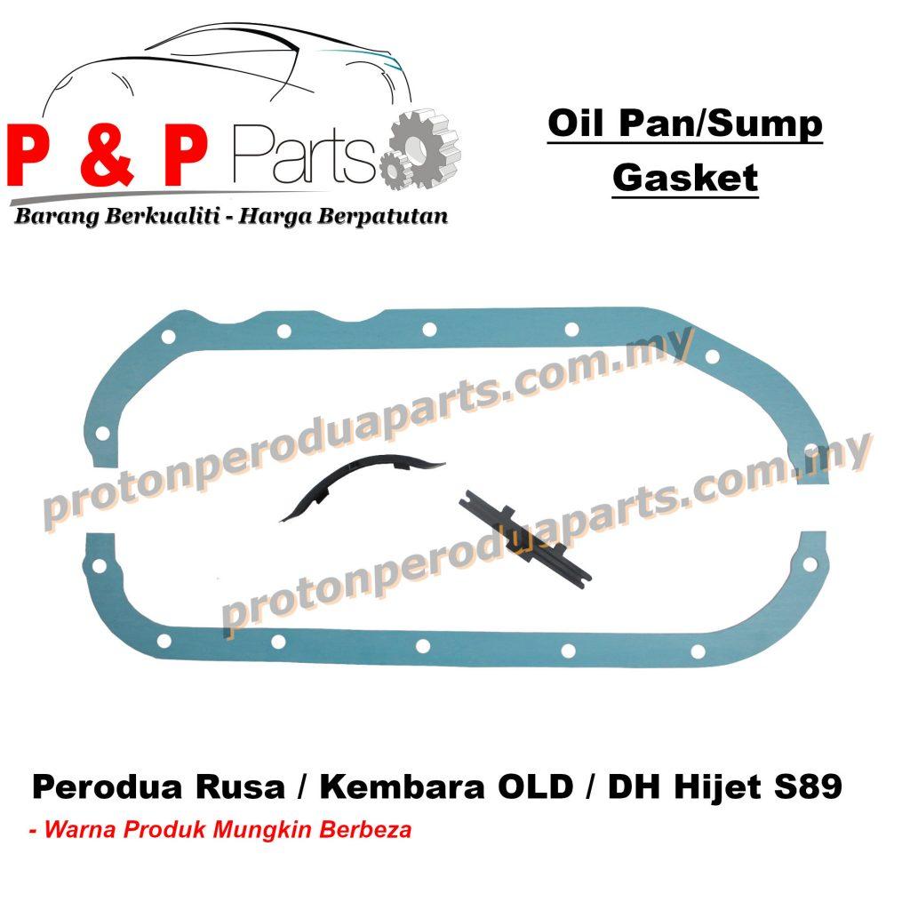 Engine Oil Sump / Pan Gasket For Perodua Rusa / Kembara OLD / DH Hijet S89