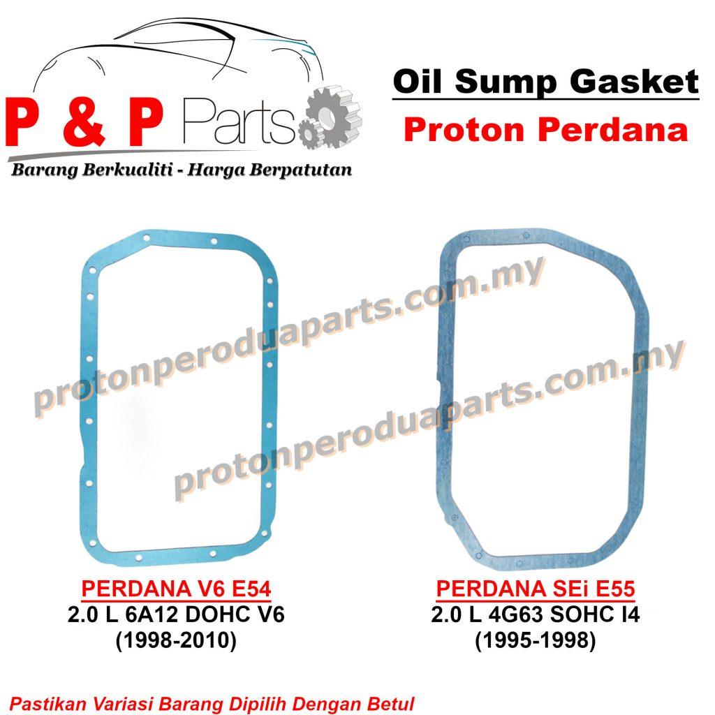 Engine Oil Sump / Pan Gasket For Proton Perdana 2.0 V6 E54 E55